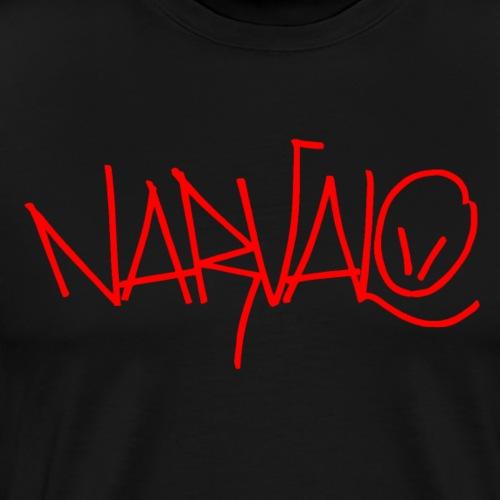 narvalo rouge - T-shirt Premium Homme
