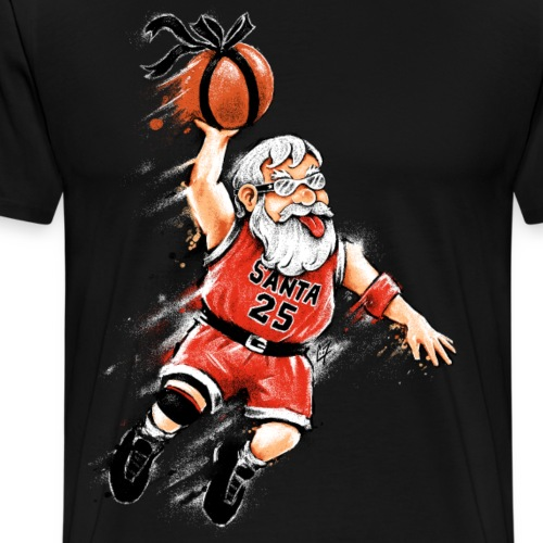 Santa Dunk - Men's Premium T-Shirt