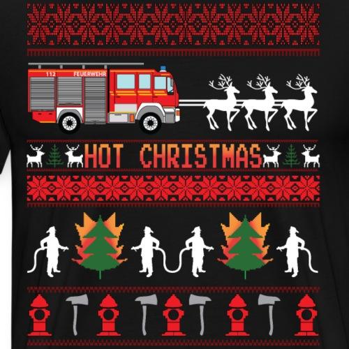 Hot Christmas - Männer Premium T-Shirt