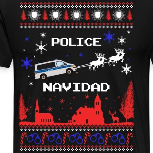 Bus Navidad - Männer Premium T-Shirt