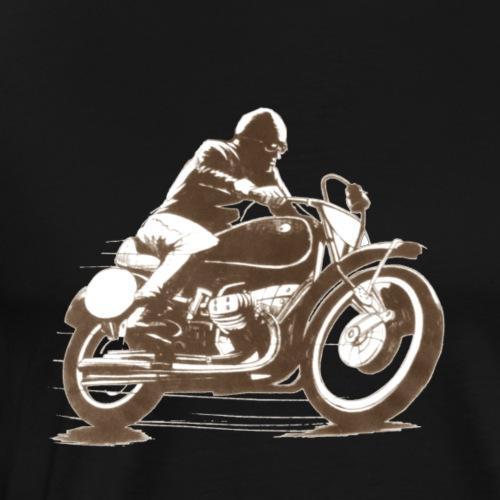Classic moto bike Motorrad