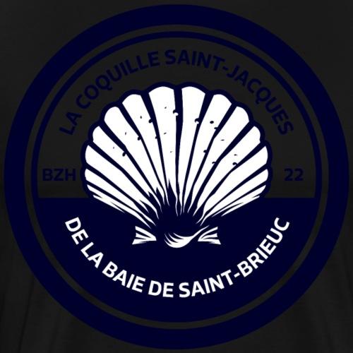La Coquille Saint Jacques Baie de Saint-Brieuc - T-shirt Premium Homme