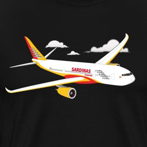 Avion Sardinas Air - T-shirt Premium Homme