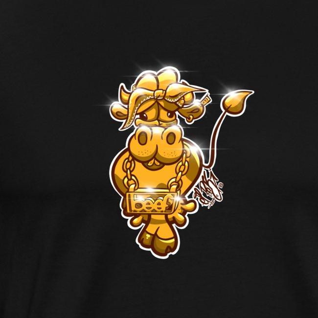 Goldene Gangster Kuh / Gold Thug Cow