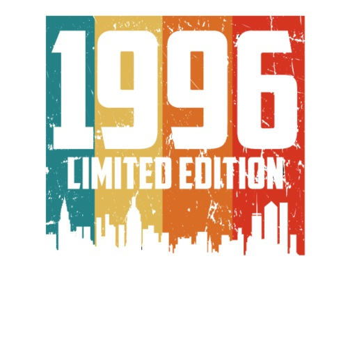 Vintage Geburtstag Limited Edition Jahrgang 1996 - Männer Premium T-Shirt