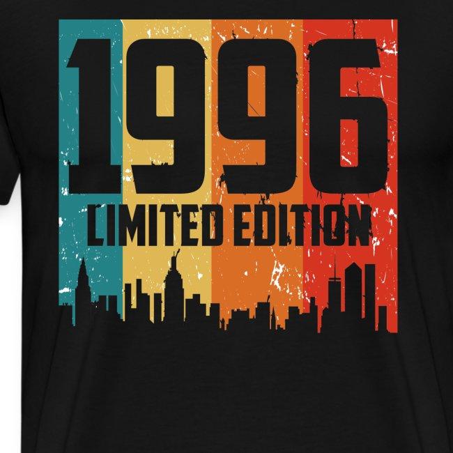 Vintage Geburtstag Limited Edition Jahrgang 1996