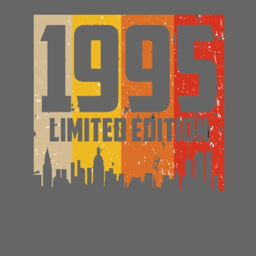 Vintage Geburtstag Limited Edition Jahrgang 1995 - Männer Premium T-Shirt