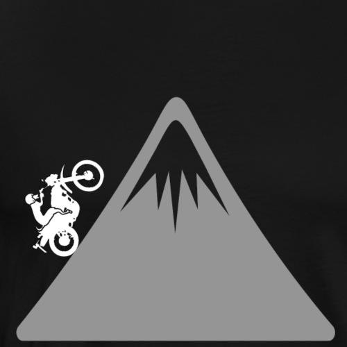 hund auf motorrad - Männer Premium T-Shirt