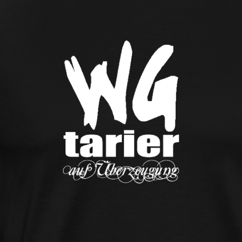 wgtarier white - Männer Premium T-Shirt