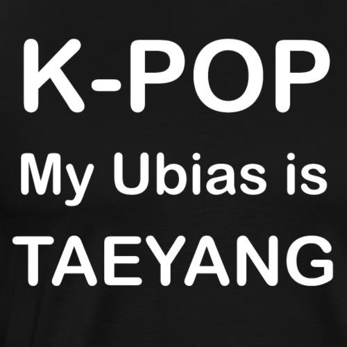 k pop myubias is TAEYANG white - T-shirt Premium Homme