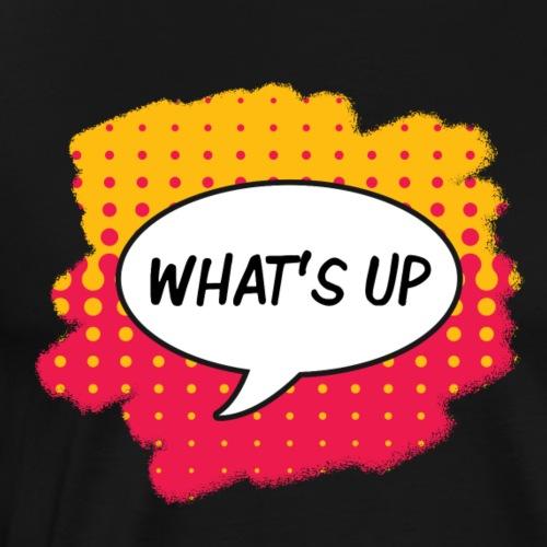 What's Up Pop Art Sprechblase