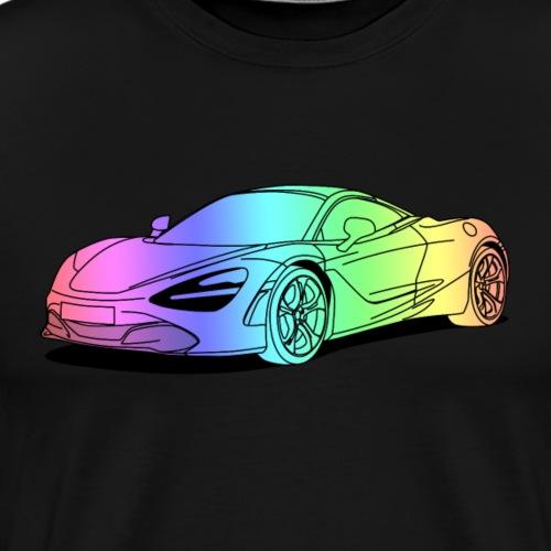 720s Coupe colourful - Men's Premium T-Shirt