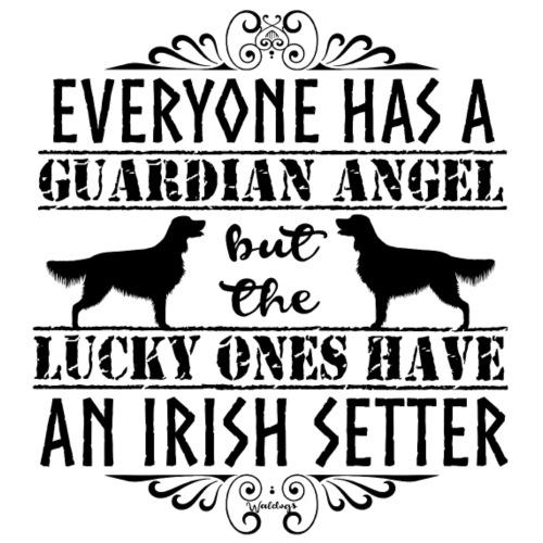 irishsetterangel2 - Miesten premium t-paita