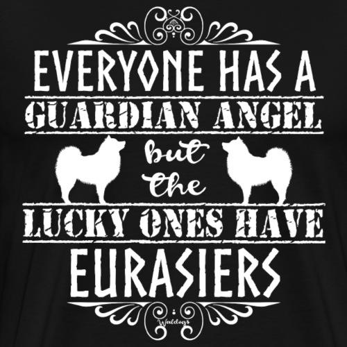 Eurasier Angels - Men's Premium T-Shirt