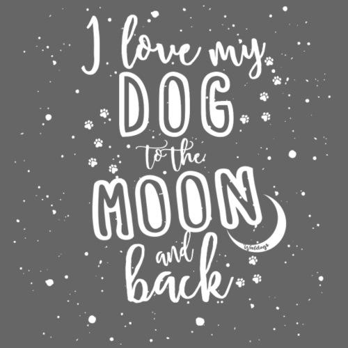 Dogs Moon 2 - Miesten premium t-paita
