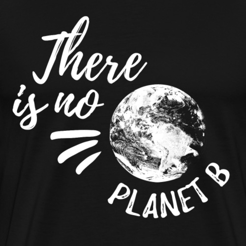 There Is No Planet B - Miesten premium t-paita