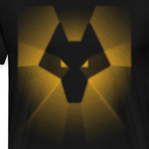 Wolves Logo - Men's Premium T-Shirt