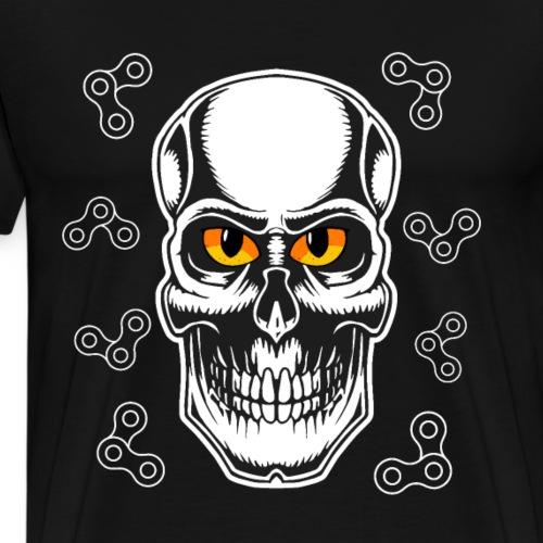 Cooler Toten Kopf - T Shirt Geschenk - Männer Premium T-Shirt