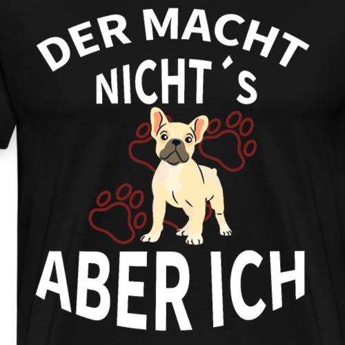 Hunde T-Shirt Geschenk Geschenkidee - Männer Premium T-Shirt