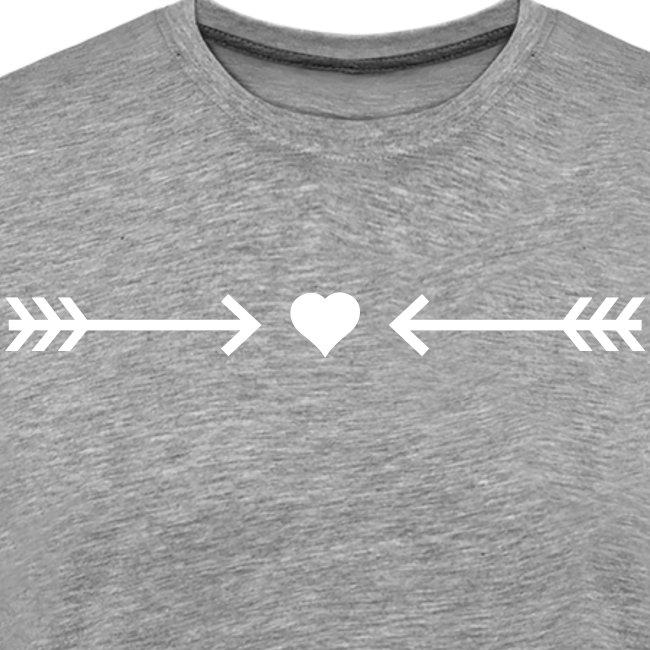Herz Pfeile Liebe Romantik Symbol Armor verliebt