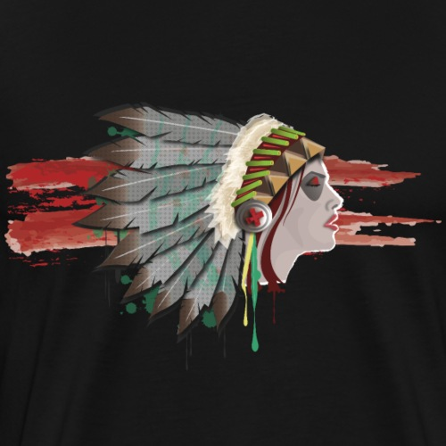 Native american - T-shirt Premium Homme