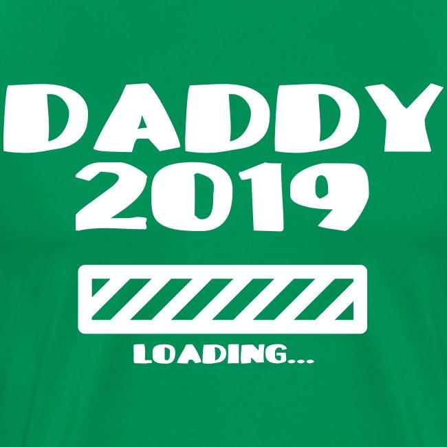 Schwanger Geschenk Shirt Vater 2019