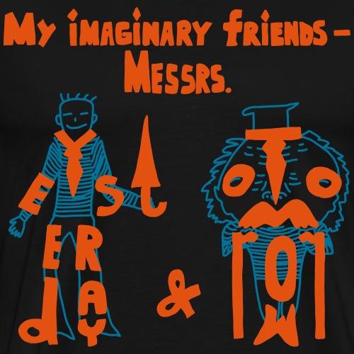 My imaginary friends T-shirt - Männer Premium T-Shirt