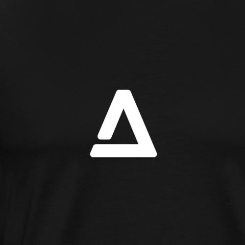 Symbol AtM White Transp. - Herre premium T-shirt