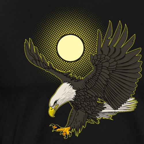 baldeagle landing - Mannen Premium T-shirt