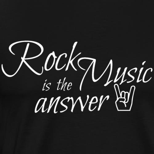 Rock Musik Shirt Geschenk - Männer Premium T-Shirt