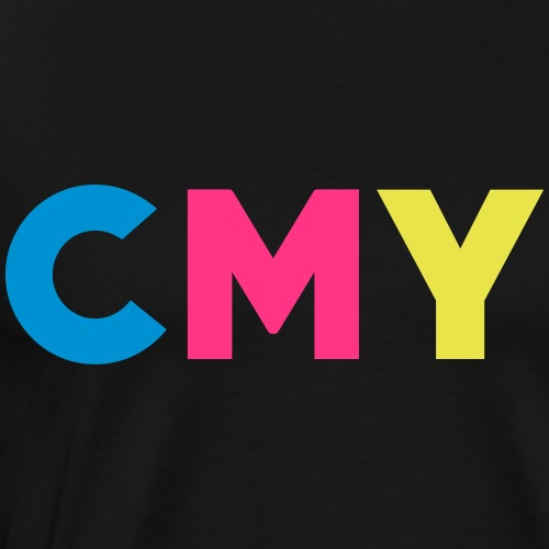 CMYK - Mannen Premium T-shirt