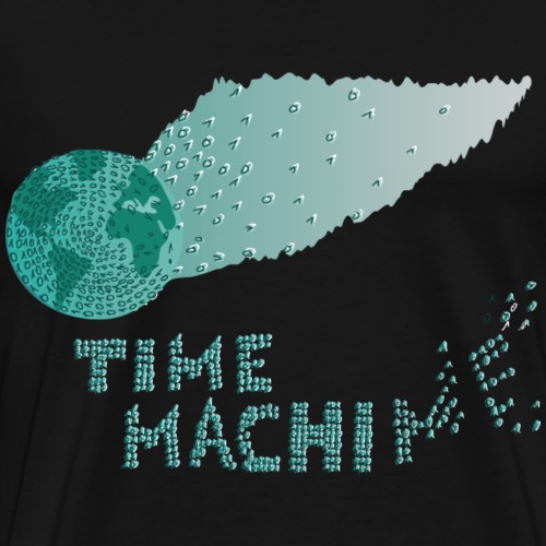 Time Machine - Männer Premium T-Shirt