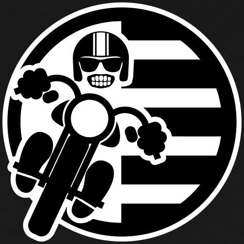 BZH Rider (avec fond) - T-shirt Premium Homme