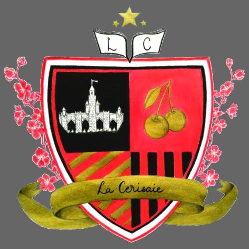 Blason collège La Cerisaie - T-shirt Premium Homme