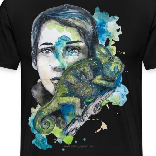 cameleon Kameleon by carographic - Männer Premium T-Shirt