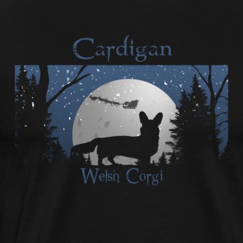 Santa is coming Cardigan - Männer Premium T-Shirt