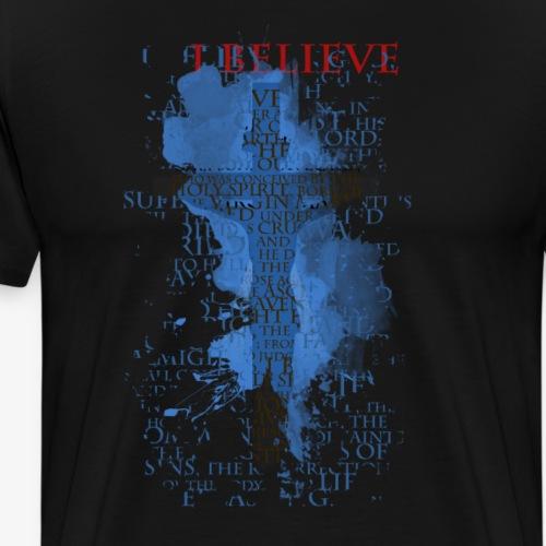 I believe / wierzę - Koszulka męska Premium