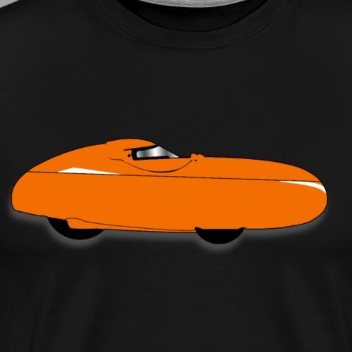 Quest velomobile - Miesten premium t-paita