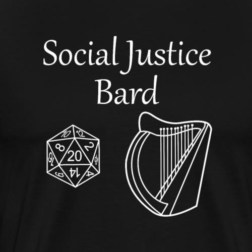 Social Justice Bard - Men's Premium T-Shirt
