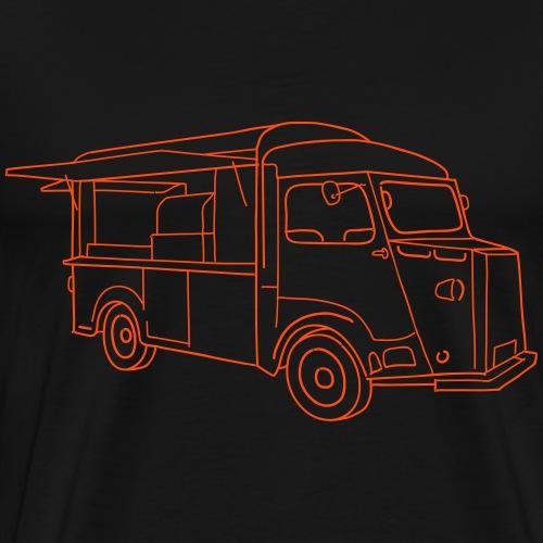 Imbisswagen (Foodtruck) - Männer Premium T-Shirt