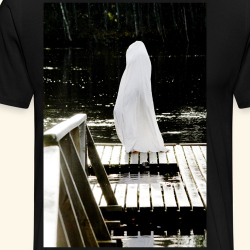 Ghost on shore - Miesten premium t-paita