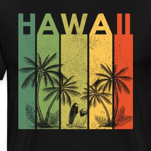 Hawaii Vintage Palmen Travel Shirt für Reisende