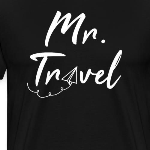 Mrs Travel - cooles Reise Shirt für Weltreisende
