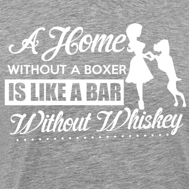 Boxer Hunde Liebhaber T-Shirt Englisch