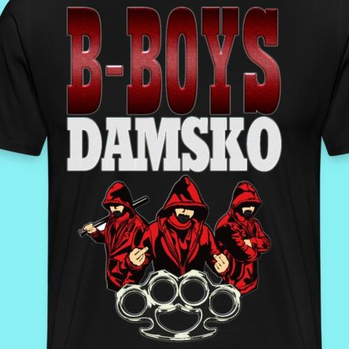 B BOYS DAMSKO 1 - Mannen Premium T-shirt