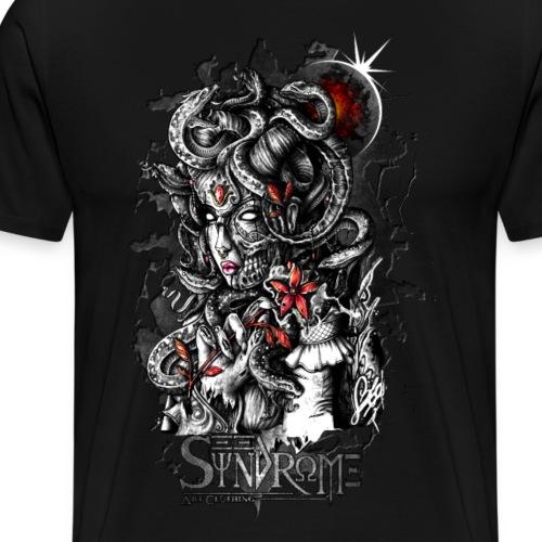 Mythologic Gorgone - T-shirt Premium Homme