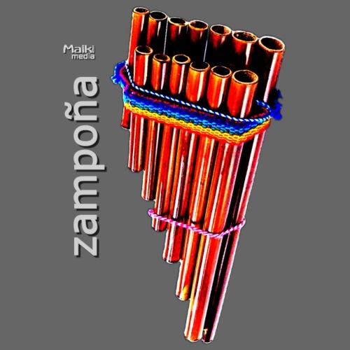 Zampoña - Bio-Baseballkappe