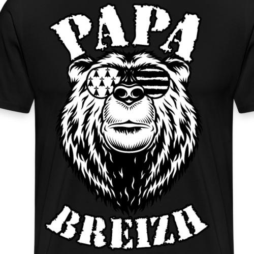 Papa Breizh - T-shirt Premium Homme