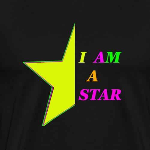 I am a Star - Männer Premium T-Shirt