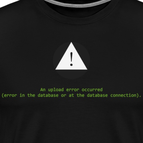 Error Connection - Men's Premium T-Shirt